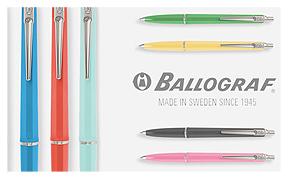 北欧雑貨・ギフトのアルコストア 文房具 BALLOGRAF バロフラフ ボールペン ペン