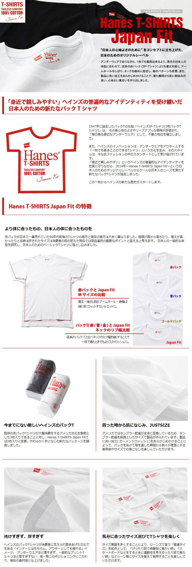 ウィメンズ ジャパンフィット クルーネックTシャツ(2枚組)【HW5110】