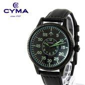ROYAL AIR FORCEレザーベルト腕時計