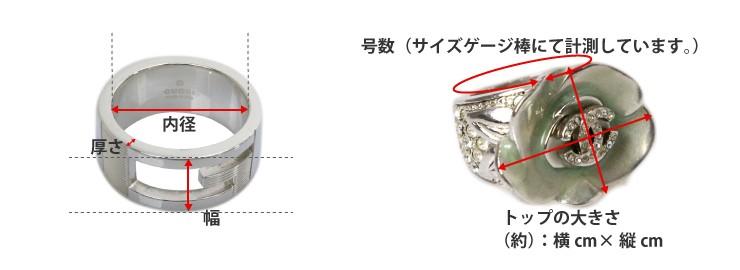 指輪の寸法