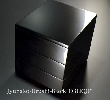 oblique 黒漆塗り