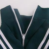 パグ学生ジャージの緑グリーン犬服