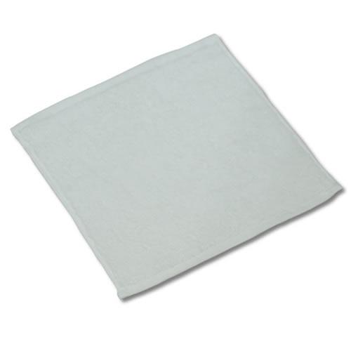 90匁ハンドタオル12枚セット:ホワイト(全7色)【業務用】【両面パイル地】