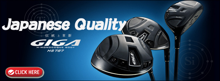japanese quality giga golf clubs