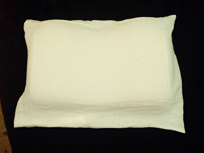 首こり肩こりに効くラテックス枕