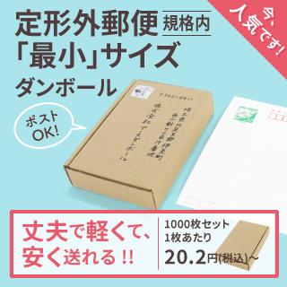 【送料無料】1枚あたり14.63円 定形外郵便用 134×82×24 【1000枚】(5321)
