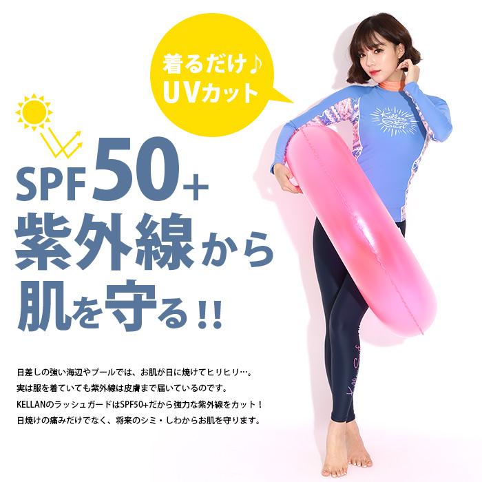 着るだけUVカット!SPF50+紫外線から肌を守る