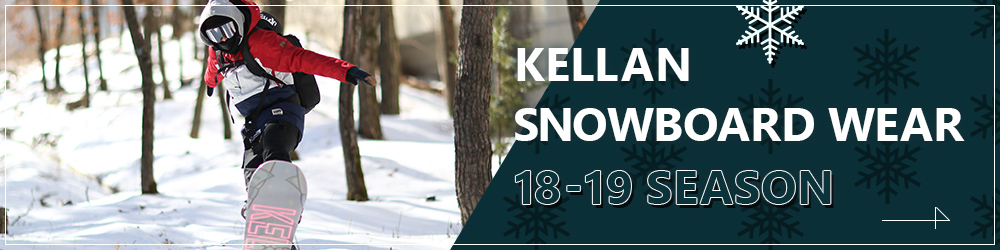 KELLAN SNOWBOARD WEAR 18-19SEASON