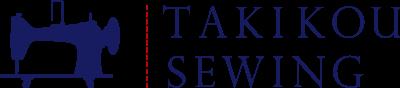 タキコウ縫製ロゴ