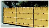 人工竹垣 組立てセット