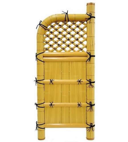 【人工竹袖垣】【送料無料】天然竹の風情そのままに「玉袖垣 タマソデスーパー」W(幅)600mm×H(高さ)1700mm