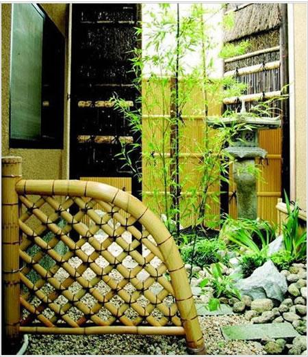【国産天然竹】【送料無料】職人の技が光る 白光悦寺垣