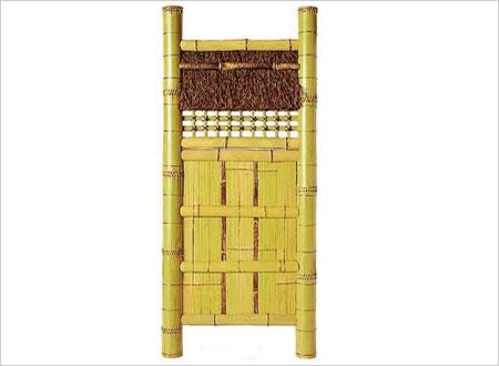 【国産天然竹 袖垣】【送料無料】白平割垣W(幅)750mmH(高さ)1730mm