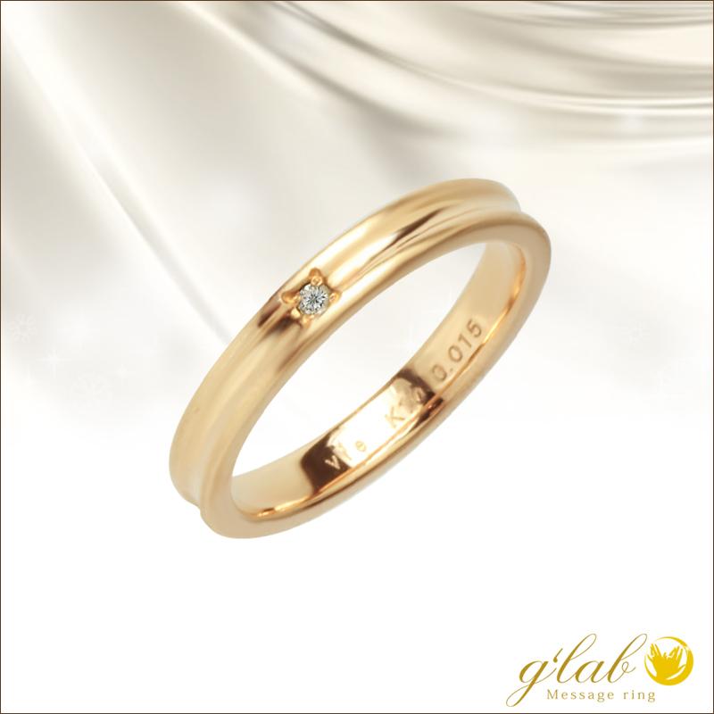 ダイヤモンド 指輪 リング ステンレス レディース ヴィー
