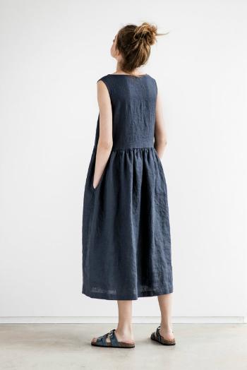 not perfect linen maxi washed linen summer dress. Black Bedroom Furniture Sets. Home Design Ideas