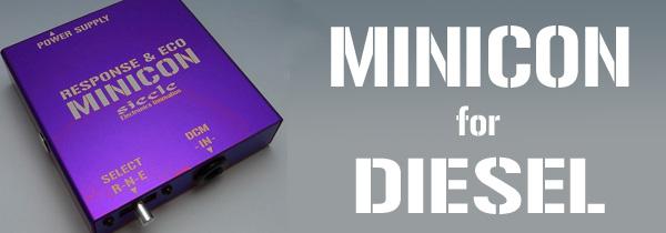 MINICON for DIESEL
