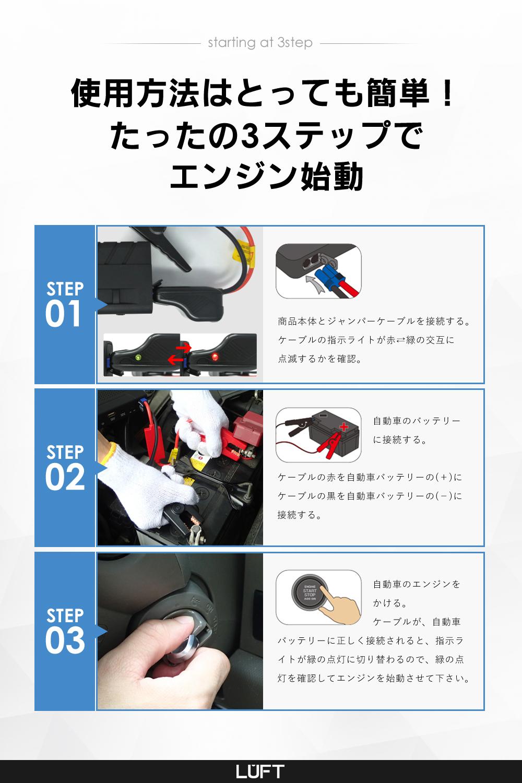 エンジン始動方法の説明画像
