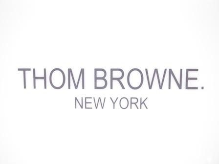 トム・ブラウン ニューヨーク THOM BROWNE. NEWYORK