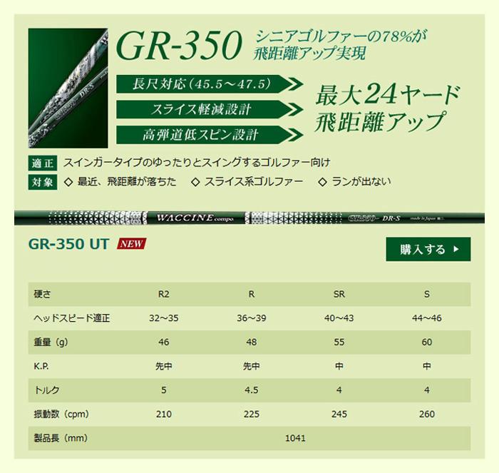 GR-350 UT