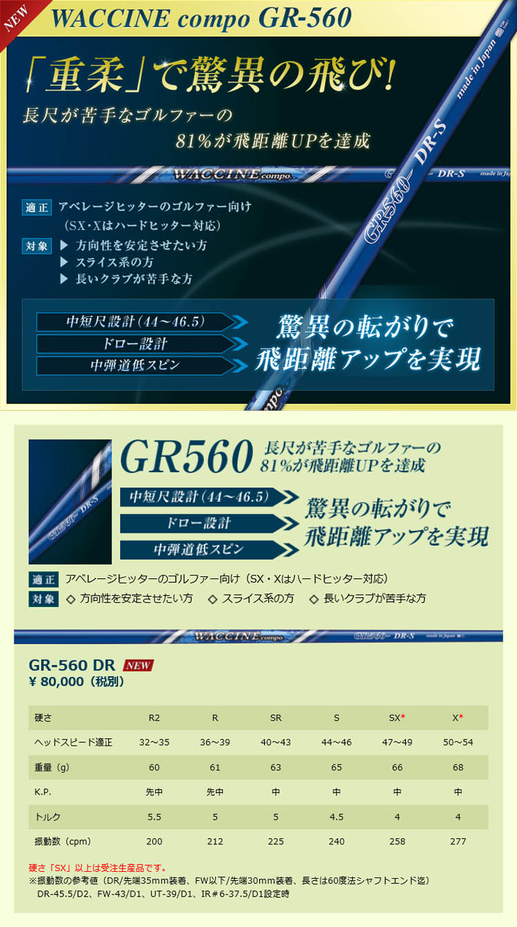 Waccine Compo GR-560