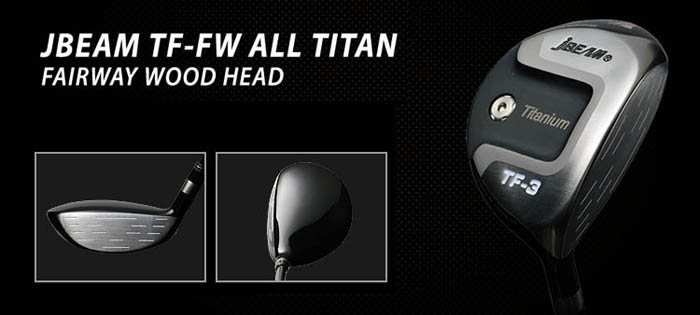 JBEAM TF-FW ALL TITAN FAIRWAY WOOD