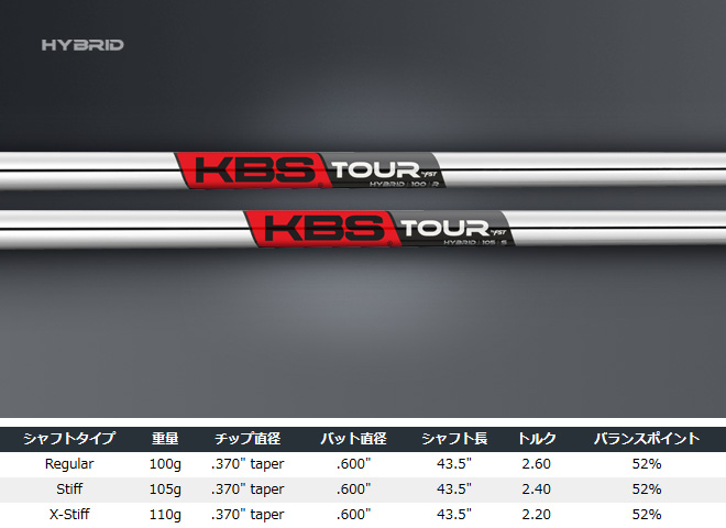 KBS TOUR C-Taper