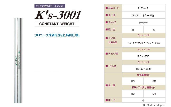 K'S 3001