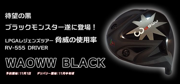 RV-555ドライバー ブラック