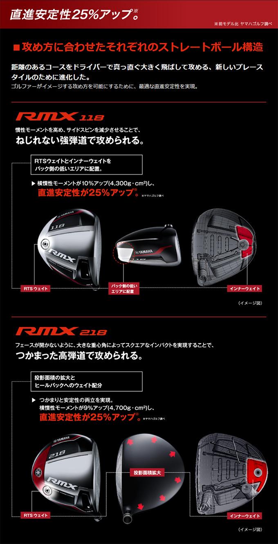 rmx118ドライバー 方向性の進化