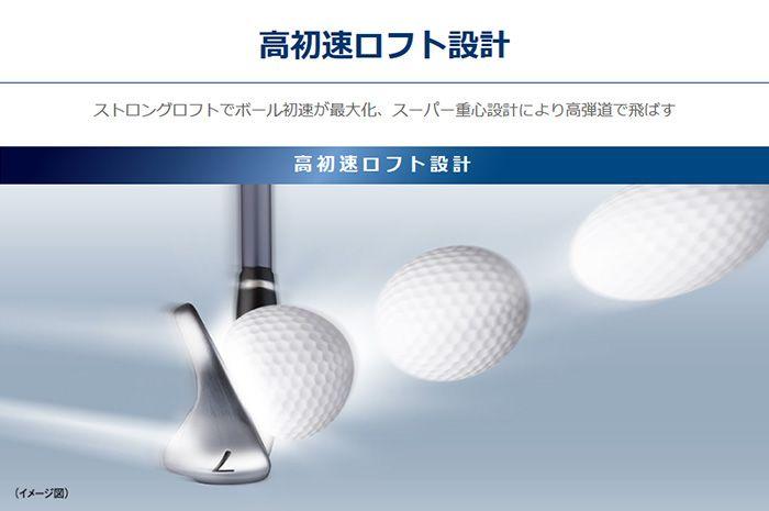 UD+2 高初速ロフト設計