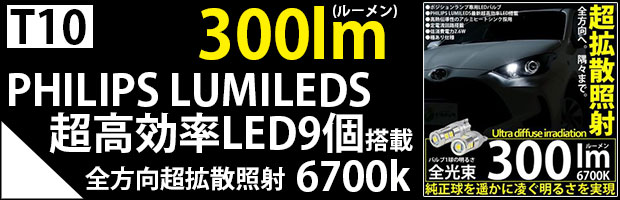 T10 300lm