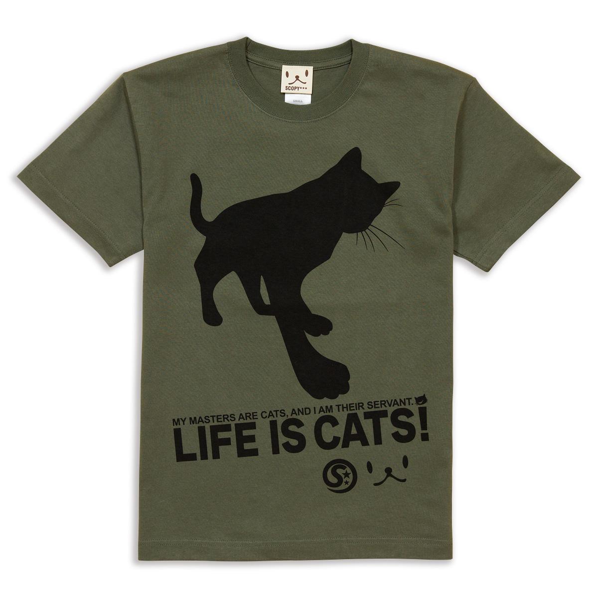 Tシャツ CAT'S SERVANT