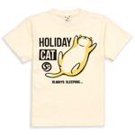 Tシャツ HOLIDAY CAT
