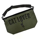 メッセンジャーバッグ CAT LOVER