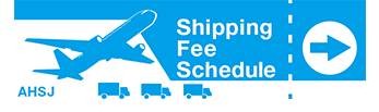shiping fee schedule