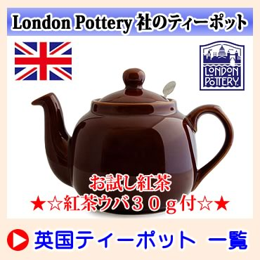 ロンドン・ポタリー ティーポット LONDON POTTERY