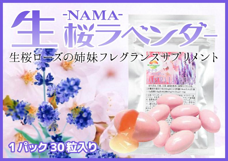 生桜ラベンダー