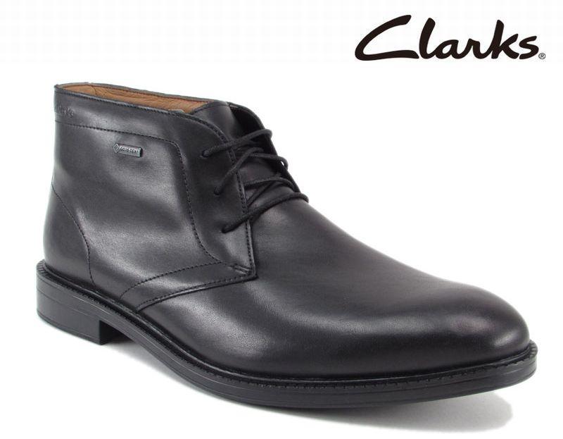 【801E_B】【Clarks】【送料無料】【牛革】【Chilver Walk GTX】アッパー全て牛革☆  チルバーウォークGTX 紐タイプビジネスシューズ紳士靴
