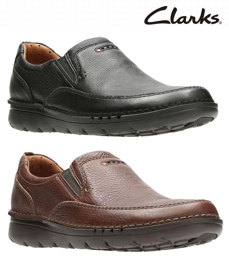 【829E】【Clarks】【送料無料】【牛革】【Unnature Easy】アッパー全て牛革☆アンネイチャーイージー カジュアルシューズビジネスシューズ紳士靴