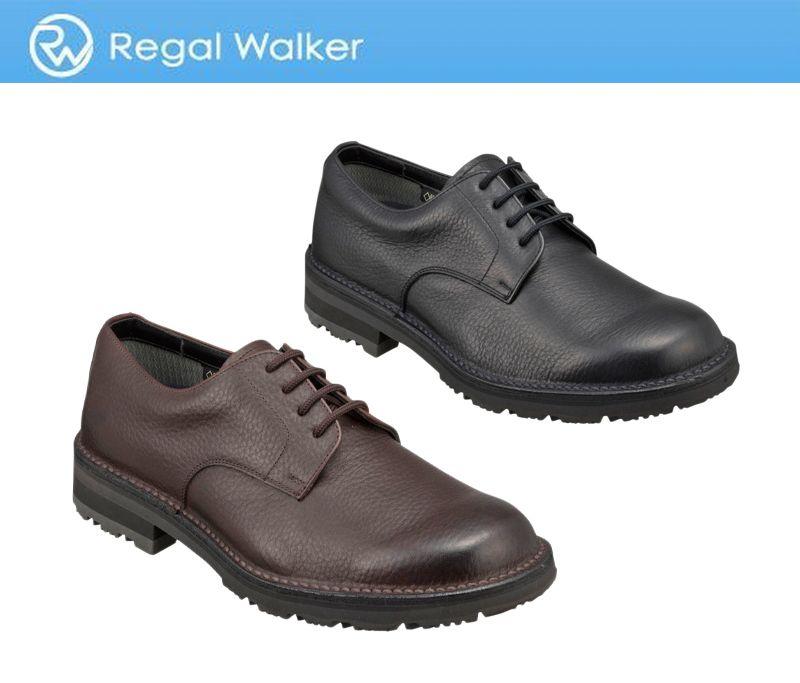 【278WBGW】【Regal Walker】【送料無料】【雪道対応ソール】アッパー全て牛革 ☆ゴアテックス(r)ファブリクス 3Eプレーントウ紳士靴