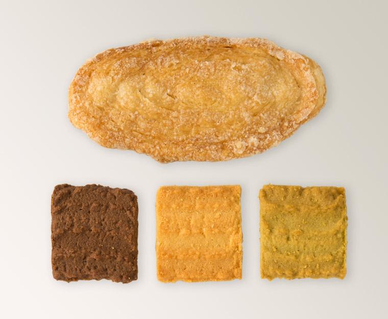 伝統のクッキーリーフパイ