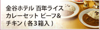 金谷ホテル 百年ライスカレーセット ビーフ&チキン(各3箱入)