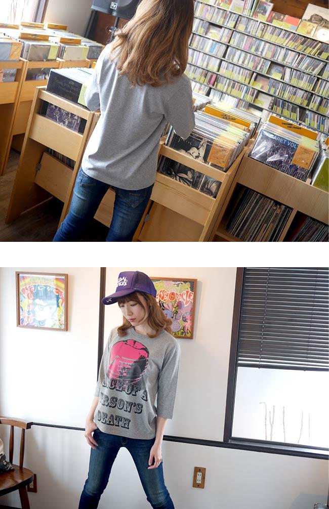American Monster アメリカン モンスター ハーフスリーブ Tシャツ The Ghost Writer 5分袖 アメカジ カジュアル ストリート パンクTシャツ ロックTシャツ PUNK ROCK オリジナル デザイン プリント メンズ レディース かっこいい 大きいサイズ 杢グレー Sサイズ Mサイズ Lサイズ Tシャツ屋さんバンビ