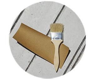 珪藻土バスマットのお手入れは紙やすりを