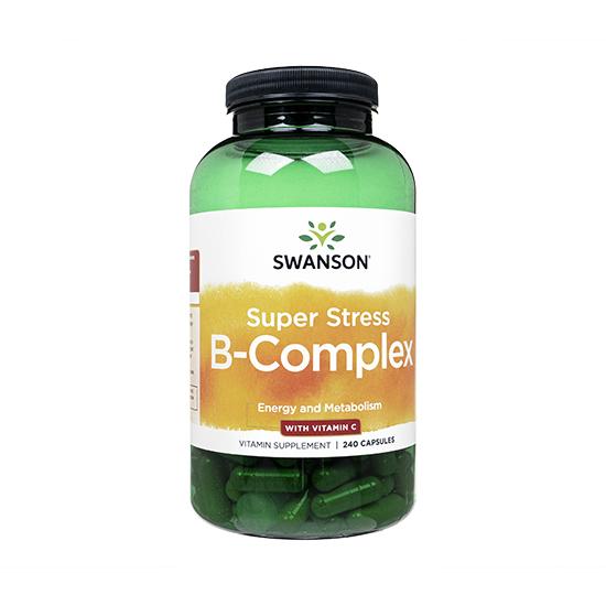 スーパーストレス・B-コンプレックス+ビタミンC240錠