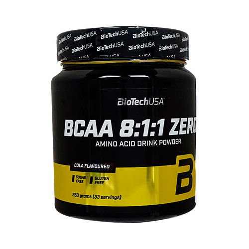 BCAA8:1:1 ゼロ・コーラ味 33回分(BioTechUSA)