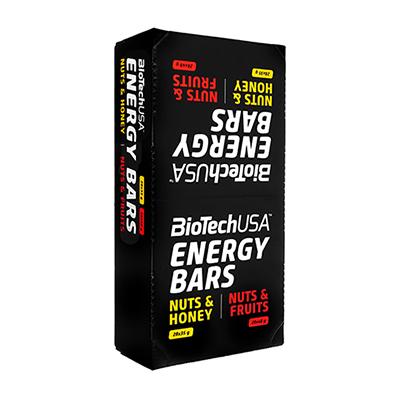 エネルギーバー35g28本入・ナッツハニー味(BioTechUSA)