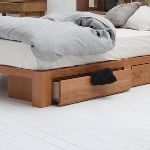 引出し付ベッド
