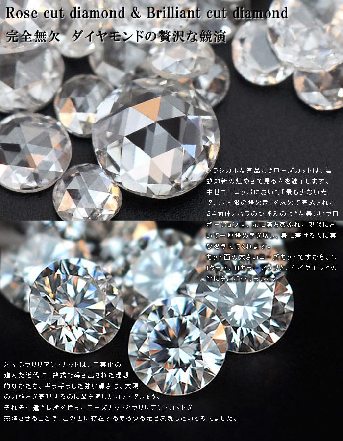 ダイヤモンド×ローズカットダイヤモンドリング「ネオ・ノビリティ」」のポイント