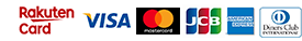 RakutenCard VISA Master JCB Amex Diners
